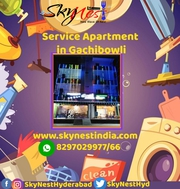 Skynest Service Apartments in Hyderabad | Fully Furnished