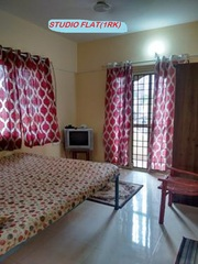 Furnished 1 room kitchen no brokerage 10000/- p.m.Manyata tech park.
