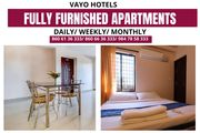 Fully Furnished 2 BHK AC Apartments Available